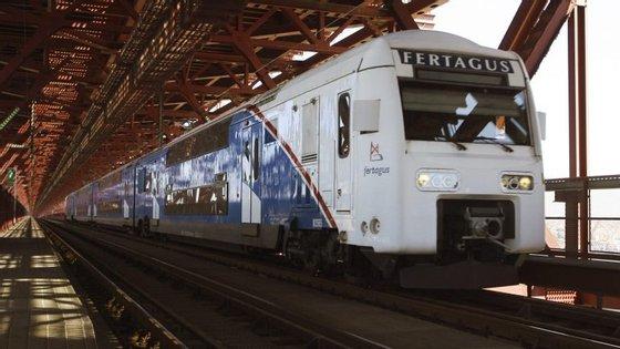 A Fertagus diz que o comboio que faz a ligação entre as duas margens do Tejo deu um contributo decisivo para a retirada de mais de 20 mil viaturas por dia da ponte 25 de Abril
