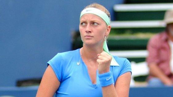A tenista ficou ferida na mão esquerda durante um assalto à sua casa