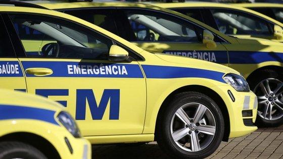 Para o local foram acionadas duas ambulâncias da corporação de Vila Pouca de Aguiar