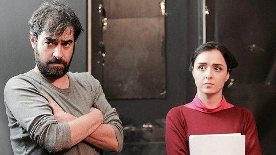 "Shahab Hosseini e Taraneh Alidoosti em ""O Vendedor"", do cineasta iraniano Asghar Farhadi"