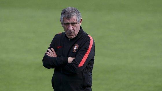O seleccionador português está ainda entre os três finalistas ao título de treinador do ano da FIFA