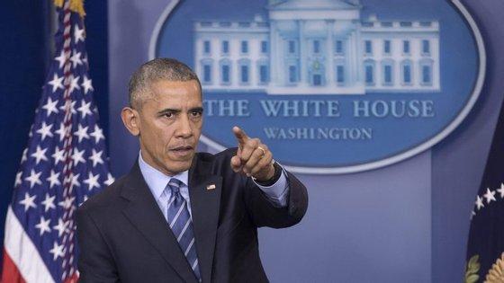 Foi a última mensagem de Ano novo de Barack Obama. Donald Trump toma posse a 20 de janeior
