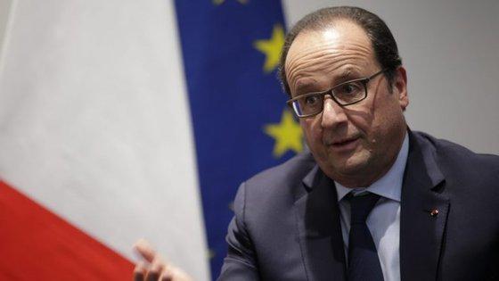 O Presidente de França já tinha visitado o Iraque em setembro de 2014