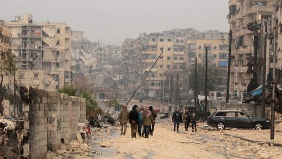 A Síria atravessa um período de cessar-fogo, que entrou em vigor a 30 de dezembro