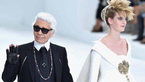 O designer de moda Karl Lagerfeld é a mais recente parceria da Platforme