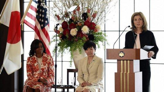 Caroline converteu-se, em 2013, na primeira mulher a ser nomeada para dirigir a embaixada dos Estados Unidos no Japão