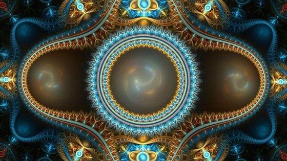 Imagem ilustrativa de um cristal de tempo
