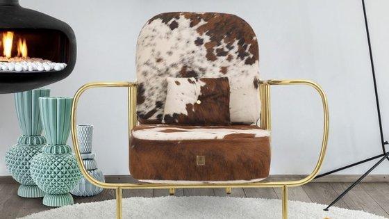 A cadeira Liberty é uma das que desperta mais interesse nas revistas de design e decoração internacionais.