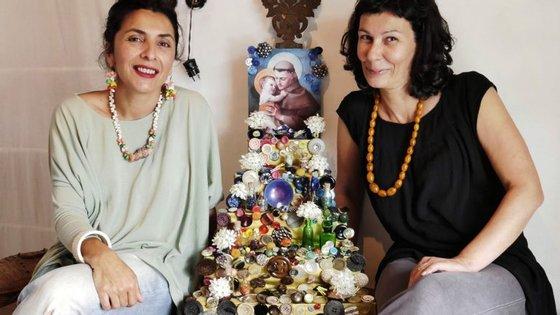 Patrícia Maio e Margarida Morins, da loja Sr. Oliveira da Figueira & Castafiore, também responderam ao desafio