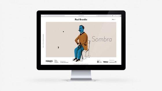 O site de Raul Brandão estará disponível dia 20 de fevereiro