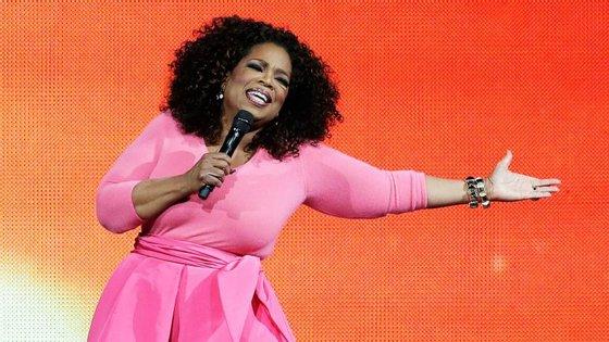 Oprah sempre disse que não se queria candidatar a Presidente