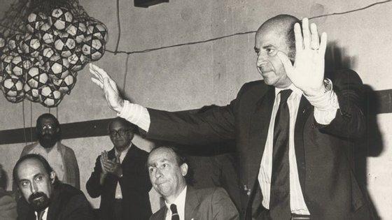 João Rocha ganhou um total de 1.200 títulos nos 13 anos em que esteve na presidência do Sporting (1973-86)