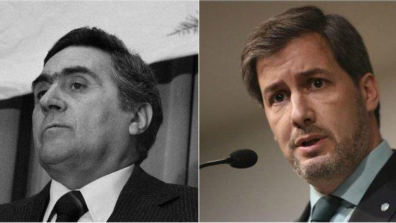 Pinheiro de Azevedo (o tio-avô) e Bruno de Carvalho