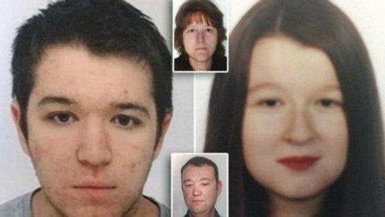 Pascal Troadec e a mulher, Brigitte, ambos de 49 anos, e os filhos Sebastien (21 anos) e Charlotte (18 anos), desapareceram a 16 de fevereiro