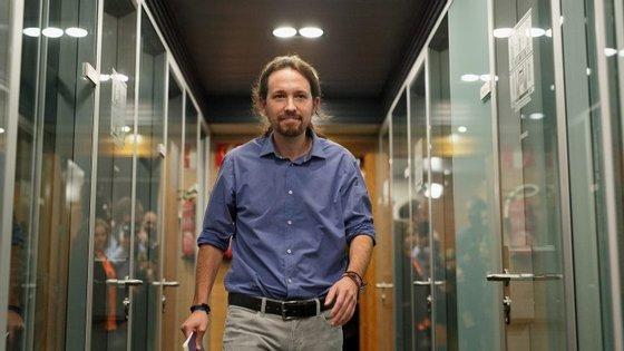 Pablo Iglesias, que lidera o Podemos desde a sua fundação em 2014, foi re-eleito em fevereiro