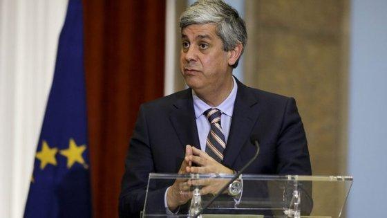 Mário Centeno, ministro das Finanças. UTAO está menos otimista do que o Governo sobre o défice público de 2016
