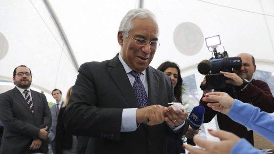 António Costa falava num almoço no âmbito de um seminário económico luso-francês