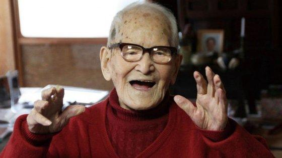 Jiroemon Kinura morreu em 2013 e entrou para o Guiness como o homem mais velho do mundo