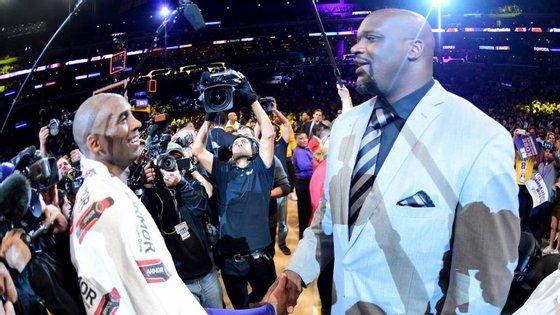 Shaquille O'Neal formou uma dupla temível com Kobe Bryant nos LA Lakers antes de virar DJ Diesel