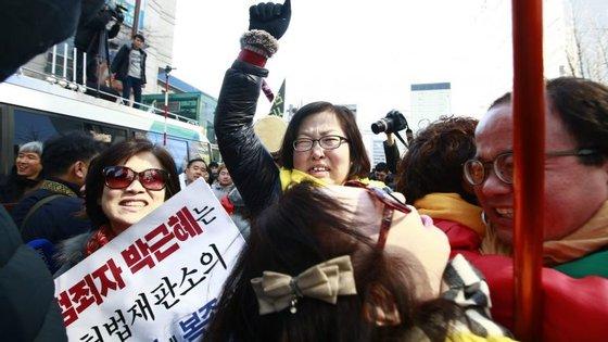 Com a destituição, Park perde a imunidade e a Coreia do Sul tem que realizar eleições presidenciais no prazo inferior a 60 dias
