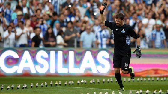 Casillas chegou à Invicta como uma das maiores contratações de sempre do futebol português