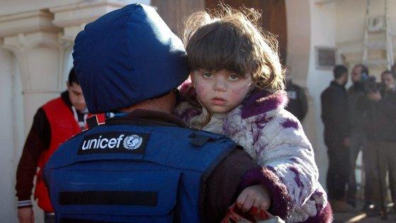 A guerra na Síria, que já fez mais de 310 mil mortos e milhões de refugiados, entra no próximo dia 15 no seu sétimo ano