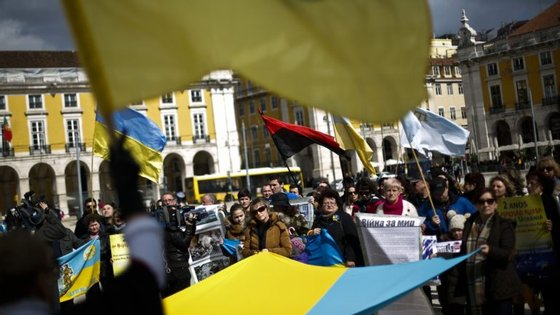 Apesar das muitas manifestações contra a guerra entre Rússia e Ucrânia, continuam a surgir focos de tensão inesperados