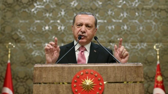 O presidente da Turquia está no centro da crise diplomática com a Holanda