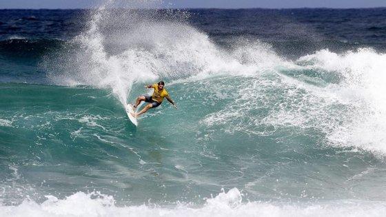 Frrederico Morais vai começar a Liga Mundial de surf na Austrália, uma espécie de segunda casa para o português