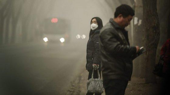 A China é um dos países mais afetados pela poluição do ar
