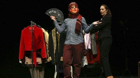 A peça estreia no dia 25, às 21h30, no Teatro Lethes, em Faro, onde fica em cena até ao dia 2 de abril
