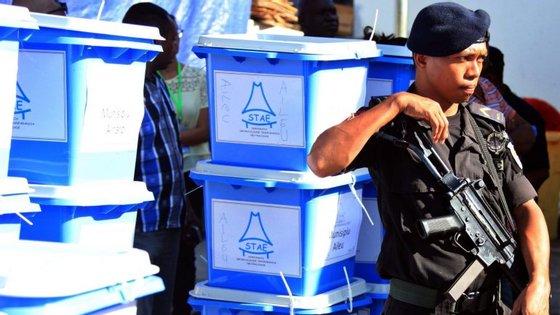 A campanha eleitoral, que termina na sexta-feira, tem decorrido praticamente sem incidentes, com apenas um caso registado logo no primeiro dia