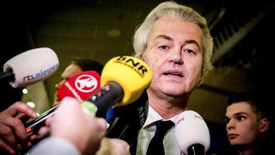Wilders não deverá ultrapassar os 19 assentos (15 na anterior legislatura)