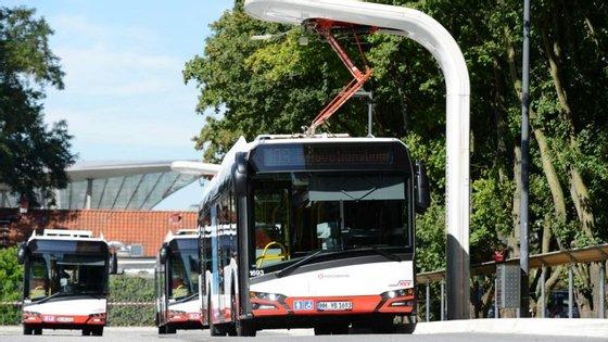 O sistema já está implementado em Hamburgo. Tempo de carga? Seis minutos
