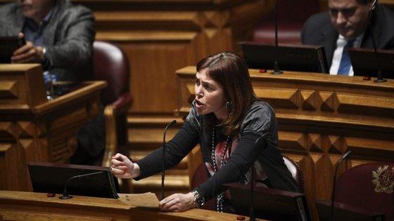 Catarina Marcelino participa na 61.ª sessão da Comissão para Estatuto da Mulher, que começou na segunda feira, e decorre até ao dia 24 de março