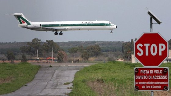 A Alitalia acumula prejuízos há vários anos