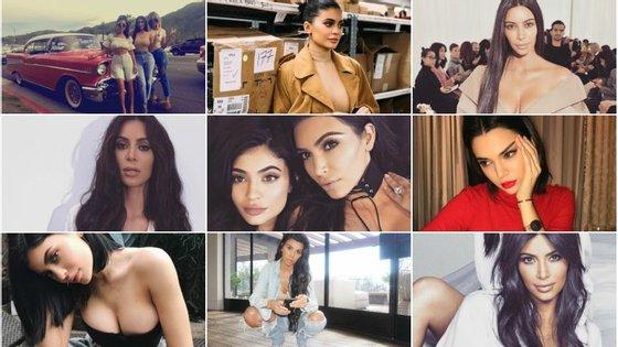 Kim Kardashian é a irmã mais rentável e chega a ganhar 470 mil euros por publicação.