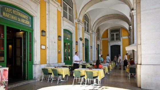 O Martinho da Arcada, no Terreiro do Paço, foi inaugurado a 7 de janeiro de 1782
