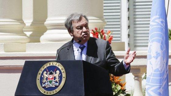 O conflito israelo-palestiniano tem sido um dos temas mais sensíveis do mandato de António Guterres
