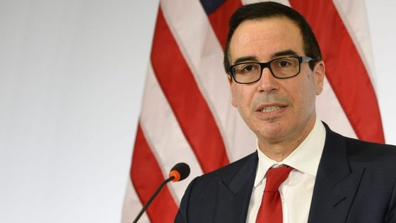 Steven Mnuchin, secretário de Estado do Tesouro norte-americano