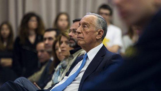 """Marcelo Rebelo de Sousa esteve esta tarde na inauguração da exposição """"Heranças e Vivências Judaicas em Portugal"""""""