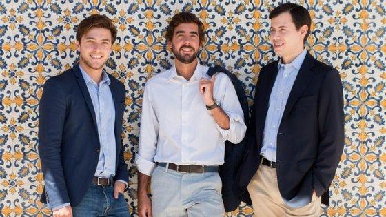 José Maria Rego, Afonso Fuzeta Eça e António Marques são os fundadores da plataforma de empréstimos