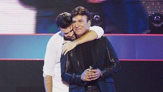 Mickael Carreirra anunciou que ia ser pai pela primeira vez, no concerto no Coliseu do Porto
