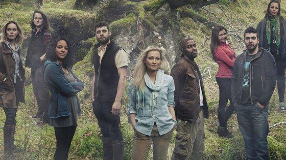 Cartaz promocional do programa que o Channel 4 transmitiu por três meses e cancelou por más audiências