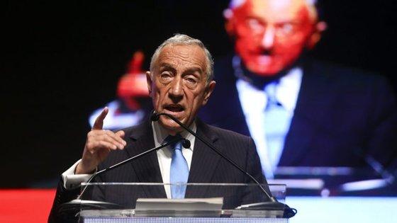 Marcelo marcou presença na abertura do XIII congresso da UGT, que decorre este fim de semana no Porto