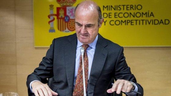 O ministro espanhol Luis de Guindos já tentou liderar o Eurogrupo em ocasiões anteriores