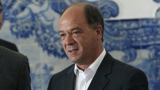 O presidente da Câmara de Cascais, Carlos Carreiras, foi ouvido enquanto testemunha da acusação
