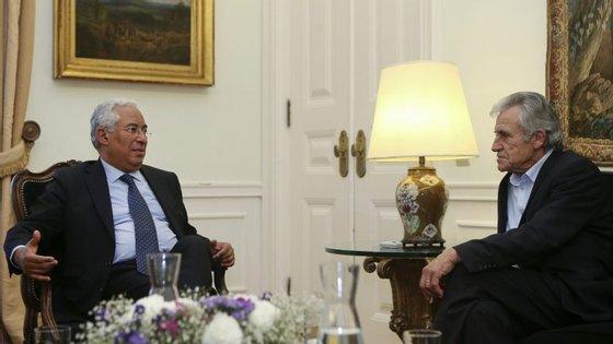 Estas posições foram transmitidas após as reuniões com o primeiro-ministro, em São Bento