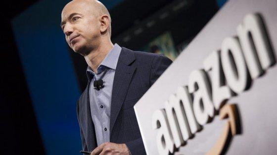 Em 2017, a fortuna pessoal de Jeff Bezoz cresceu 10,2 mil milhões de dólares