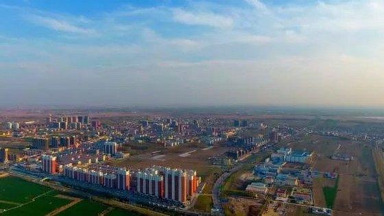 A especulação imobiliária na zona duplicou desde o anúncio da construção desta 'nova cidade'